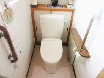 節水トイレにリフレッシュ工事