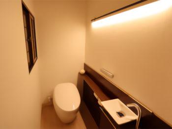 毎日使う場所だから…リッチなトイレ空間生活のスタート