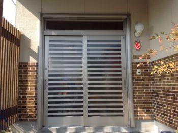玄関引き戸の防犯性&断熱性大幅向上リフォーム工事