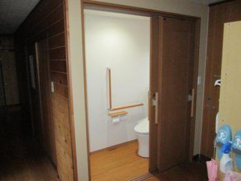 2つのトイレ空間を1つに☆トイレリモデル工事☆