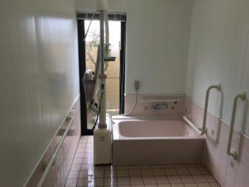 施設浴室入れ替え工事