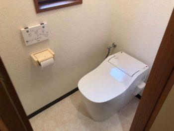 トイレ空間リニューアル&洗濯機スペース新設工事