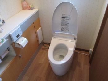 綺麗で掃除がしやすいトイレへリフォーム
