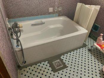 浴槽をリフレッシュ!