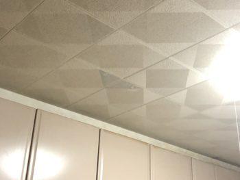 天井パネル補修