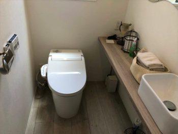 トイレ空間の新しい生活様式リフォーム♪