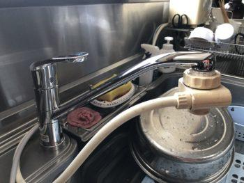 よりスマートな水栓金具になりました