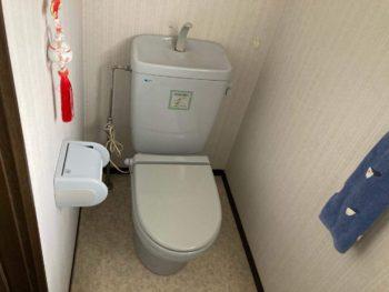 1時間弱で節水トイレにリニューアル♪