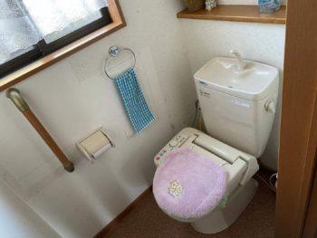 便器の故障がキッカケで トイレ全体オールリニューアル