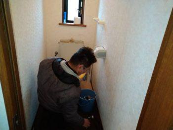トイレ節水化&内装リフォーム工事