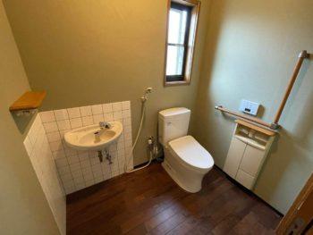 トイレをゆったりできる住空間にリニューアル♫