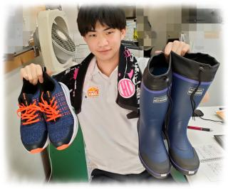 ★初めての安全靴★